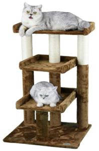 Go pet club faux fur cat tree playground equipment and gear for Epic cat tree