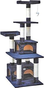Go Pet Club Black Cat Tree Condo