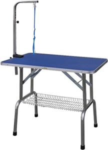 Go Pet Club Pet Grooming Table With Shelf BLUE