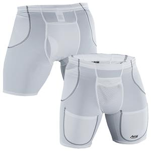 Adams Adult 1199 Compression Football Girdles
