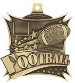 "Hasty Awards 2.5"" Xtreme Football Medal M-701F"