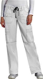 Adar PopStretch Womens Junior Fit MultiPocket Pant