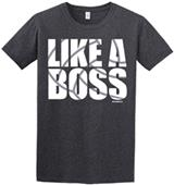Image Sport Like a Boss Volleyball T-Shirt