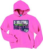 Image Sport If Volleyball Was Easy Hoodie