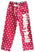Image Sport Dot Volleyball Drawstring Flannel Pant
