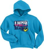 Image Sport If Fastpitch Was Easy... Hoodie
