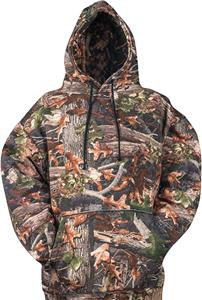 Vos Sports Camo Hooded Pullover Sweatshirt