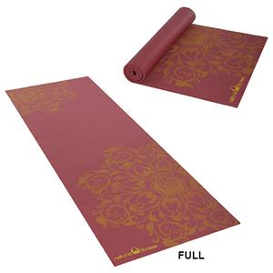 Natural Fitness Burgundy Eco-Smart Yoga Mat