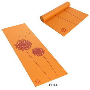 Natural Fitness Orange Eco-Smart Yoga Mat