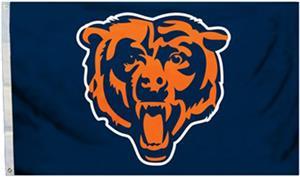 BSI NFL Chicago Bears 3' x 5' Flag w/Grommets