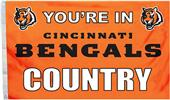 BSI NFL Cincinnati Bengals Country 3' x 5' Flag