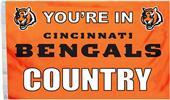 BSI NFL Cincinnati Bengals Country 3' x 5' Flag
