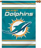 """NFL Miami Dolphins 28"""" x 40"""" House Banner"""