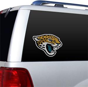 NFL Jacksonville Jaguars Auto Diecut Window Film