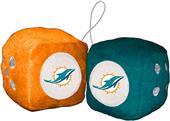 BSI NFL Miami Dolphins Fuzzy Dice