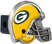 NFL Green Bay Packers Metal Helmet Hitch Cover