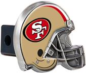 NFL San Francisco 49er's Metal Helmet Hitch Cover