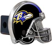 BSI NFL Baltimore Ravens Metal Helmet Hitch Cover