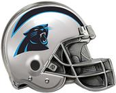 BSI NFL Carolina Panthers Metal Helmet Hitch Cover