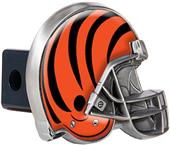 BSI NFL Cincinnati Bengal Metal Helmet Hitch Cover