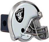 BSI NFL Oakland Raiders Metal Helmet Hitch Cover