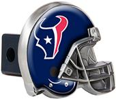 BSI NFL Houston Texans Metal Helmet Hitch Cover