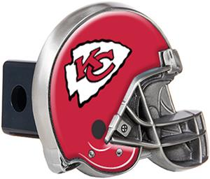 BSI NFL Kansas City Chief Metal Helmet Hitch Cover