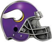 BSI NFL Minnesota Vikings Metal Helmet Hitch Cover