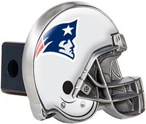 BSI NFL Patriots Metal Helmet Hitch Cover