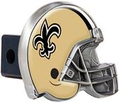 BSI NFL New Orleans Saint Metal Helmet Hitch Cover