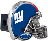 BSI NFL New York Giants Metal Helmet Hitch Cover