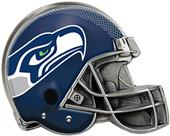 BSI NFL Seattle Seahawks Metal Helmet Hitch Cover