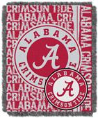 Northwest NCAA Alabama Crimson Tide Jacquard Throw