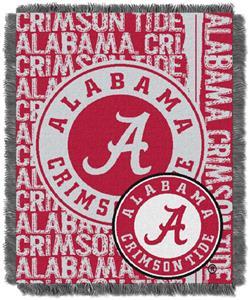 Northwest NCAA Alabama Crimson Tide Jacquard Throw