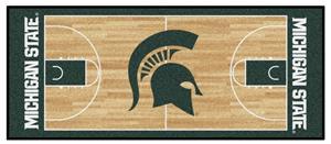 Fan Mats Michigan State Univ Basketball Runner