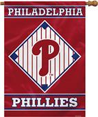 "MLB Philadelphia Phillies 28"" x 40"" House Banner"