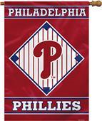 """MLB Philadelphia Phillies 28"""" x 40"""" House Banner"""