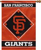"MLB San Francisco Giants 28"" x 40"" House Banner"