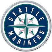 "MLB Seattle Mariners 12"" Die Cut Car Magnets"