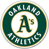 "MLB Oakland Athletics 12"" Die Cut Car Magnets"