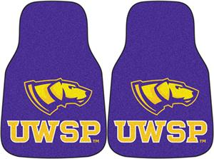 Fan Mats Wisconsin-Stevens Point Car Mats (set)