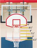 Bison 6-In-1 Easy Up Youth Basketball Mini Goal