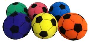 Martin Sports Foam Soccer Balls Set of 6