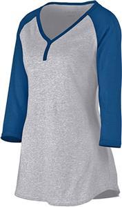 Augusta Sportswear Ladies Rave Henley