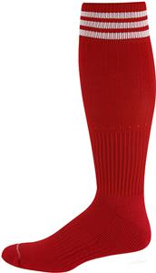Pro Feet 3 Striped Polypropylene Soccer Socks