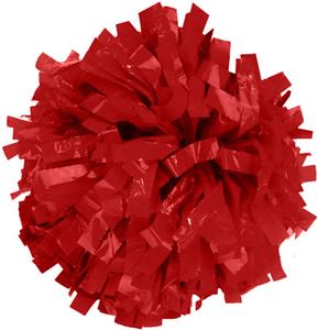 "Getz Adult Cheerleaders 1"" W Solid Plastic Poms"