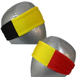 Svforza Belgium Country Flag Headbands