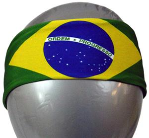 Svforza Brazil Country Flag Headbands