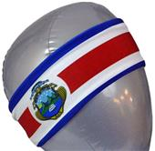 Svforza Costa Rica Country Flag Headbands