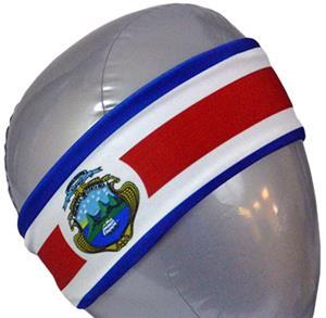 Svforza Costa Rica Country Flag Headbands